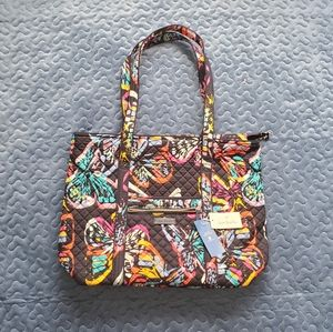 Vera Bradley Iconic Butterfly Tote